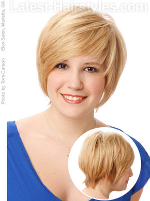 Short Hairstyles For Round Faces | Hairstyle