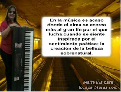 17. La música: belleza natural 10 Reflexiones, frases y pensamientos musicales por la Profesora Marta Iris Rodríguez Números 11-20