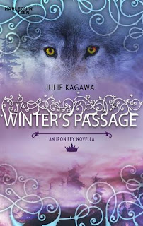 book cover for Winter's Passage by Julie Kagawa