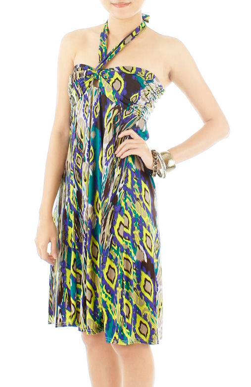 Wild Love Beach Dress - Lime