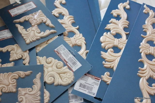 wooden appliques for furniture. An Assortment Of Furniture Appliques Which I Also Found At Lowes, Wooden For