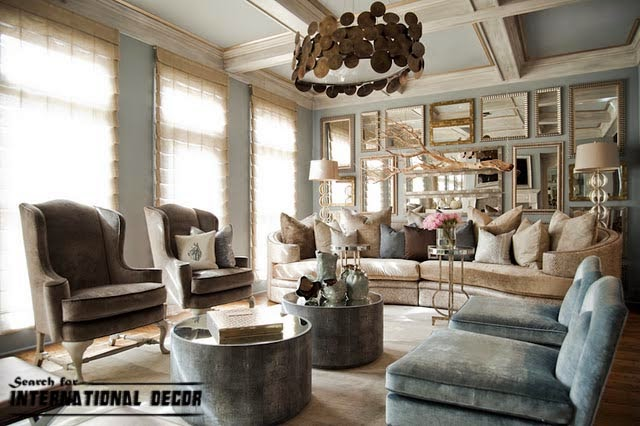 American Style In The Interior Design And Houses International Decoration