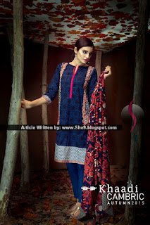Khaadi Cambric Autumn Collection 2015