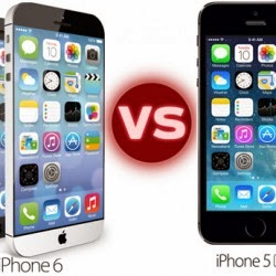Apple iPhone 6 vs iPhone 5s