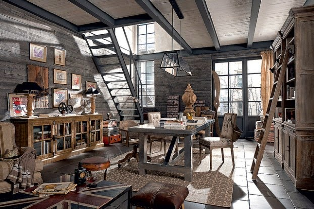 Deco dialma brown y su decoraci n vintage industrial virlova style - Decoracion vintage industrial ...