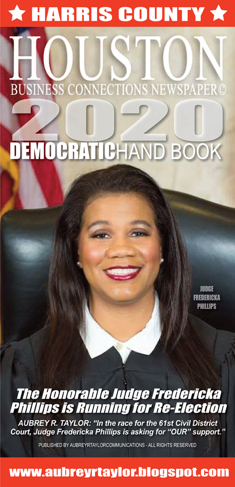 Judge Fredericka Phillips for Judge, 61st Civil District Court in Harris County, Texas