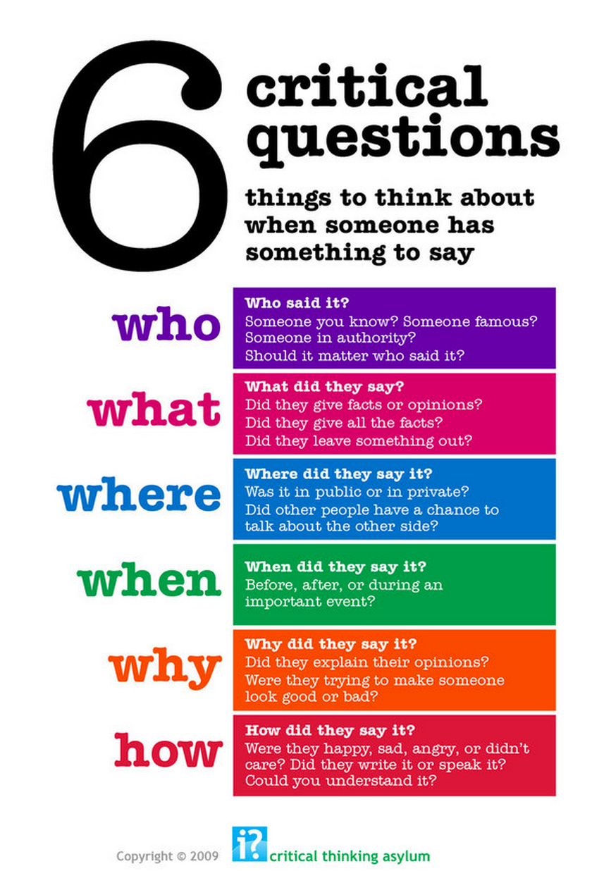 8 steps in critical thinking skills