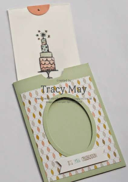 stampin up uk magic slider card Lifes adventure independent demonstrator Tracy May