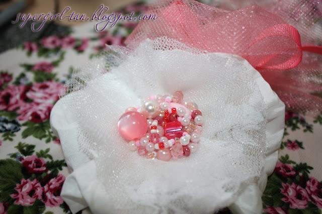 повязка с цветком