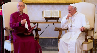 Welby and Pope Francis