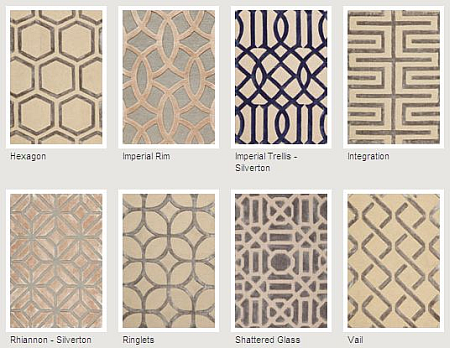 New Geometric Rugs From Patterson Flynn And Martin The