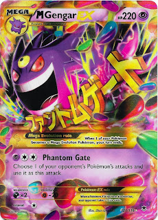 Mega Gengar EX Phantom Forces Pokemon Card