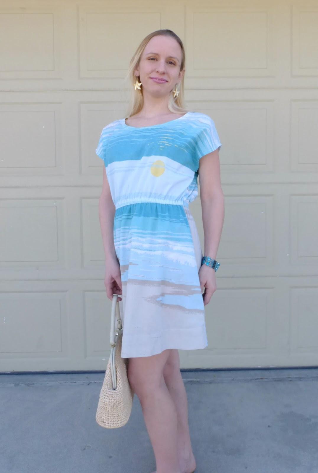 diy sewn dress styled two ways