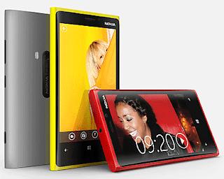 Nokia Lumia 920 Windows 8 Smart Phone with color shells