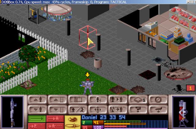 UFO: Enemy Unknown - Cyberdisc Screenshot
