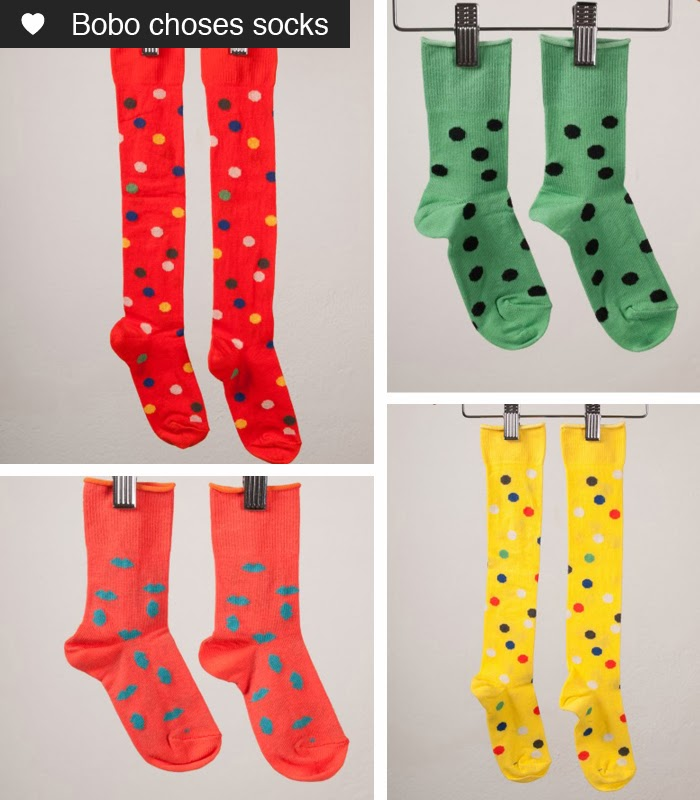 Bobo choses socks 2014 collection // Sunday in color blog