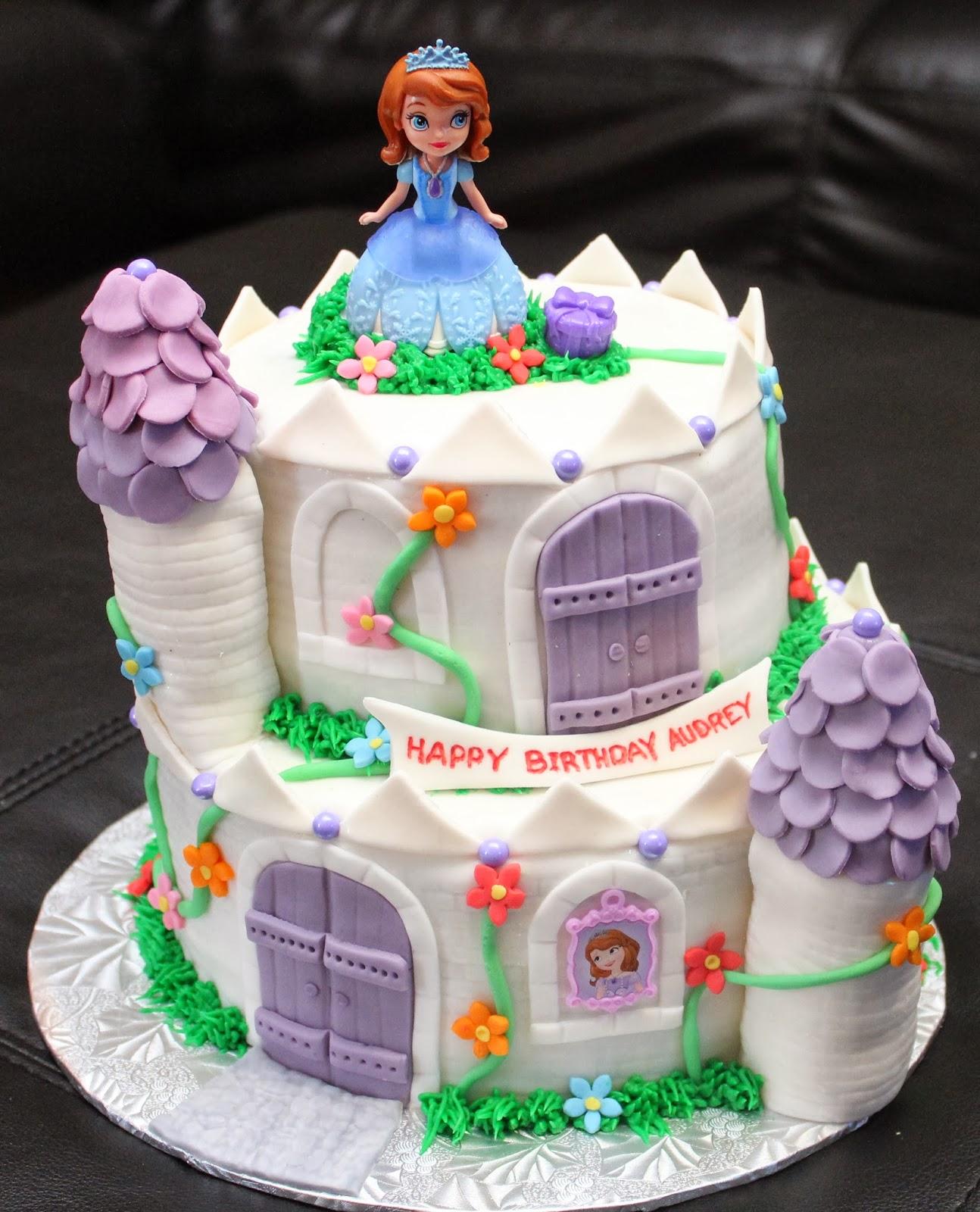 Love Dem Goodies Princess Sofia Castle Cake