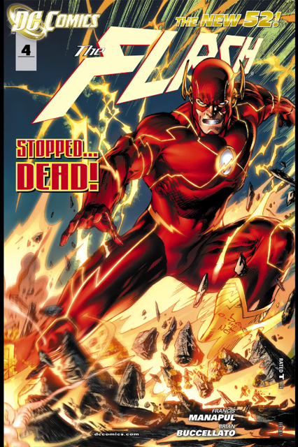 Rusted mecha the new 52 the flash no 4 review
