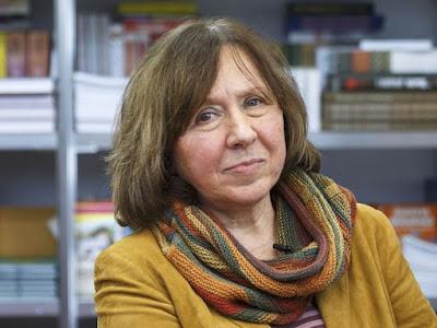 Svetlana Alexievich vence Nobel de Literatura 2015