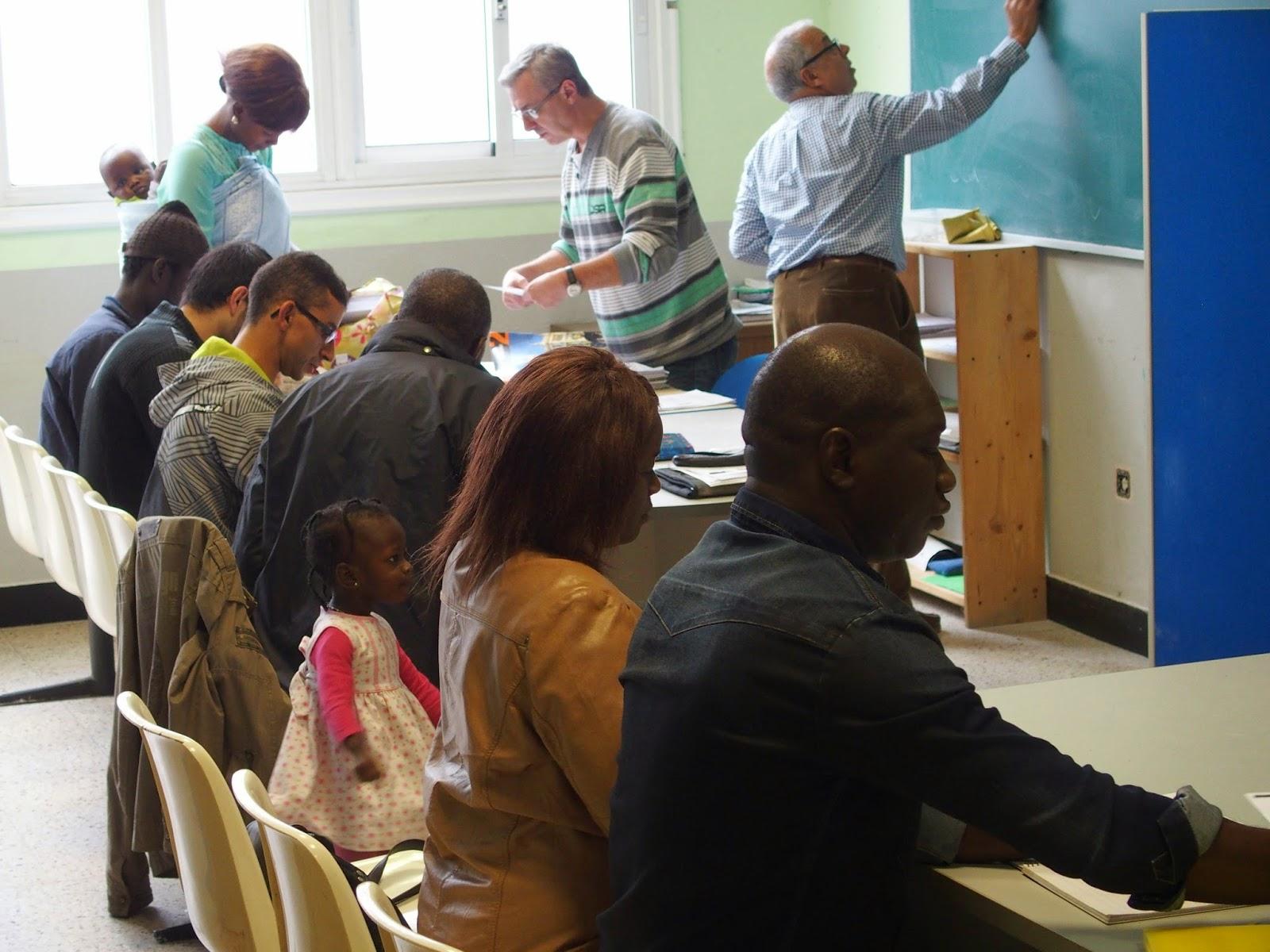 clases de español para inmigrantes en Ecos do Sur