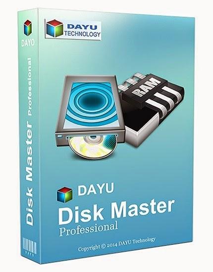 DAYU Disk Master Professional Crack Serial Free Download