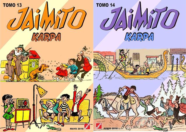 Jaimito - Tomos 01 - 16 - Karpa - EAGZA. (Aventuras de Jaimito)
