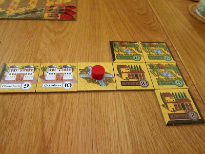 Alhambra - Daniella's Alhambra midway through the game