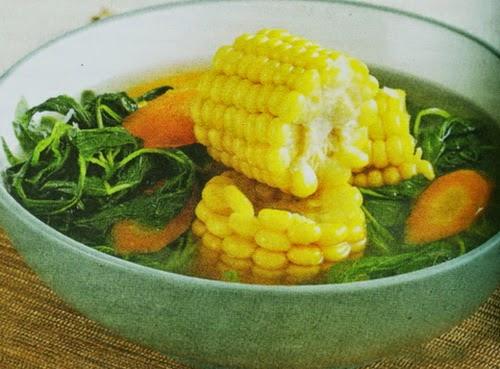 resep masakan sayur bayam