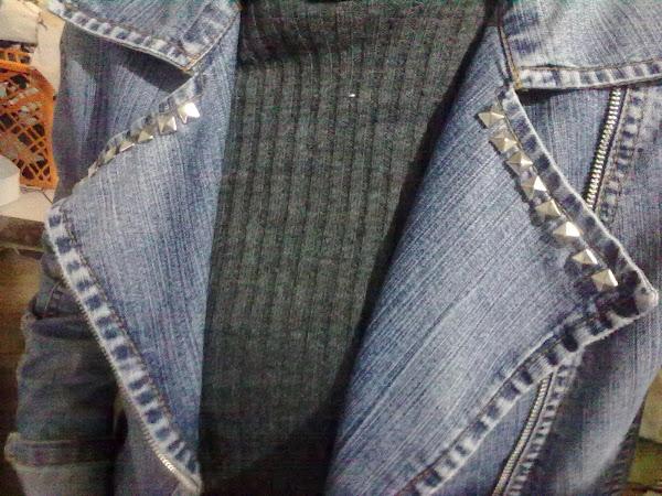 Customização jaqueta.