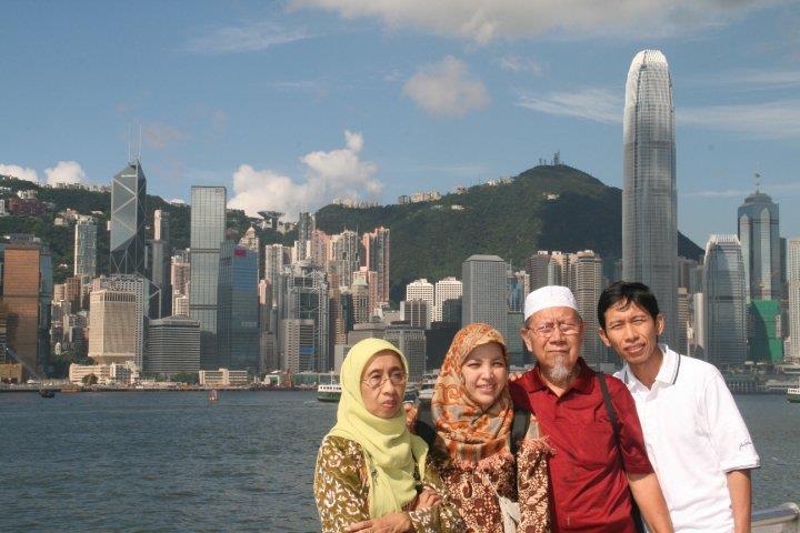 perjalanan kami ke hongkong
