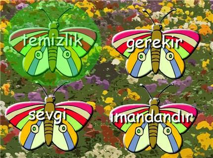 Hadis Kelebekleri Oyunu