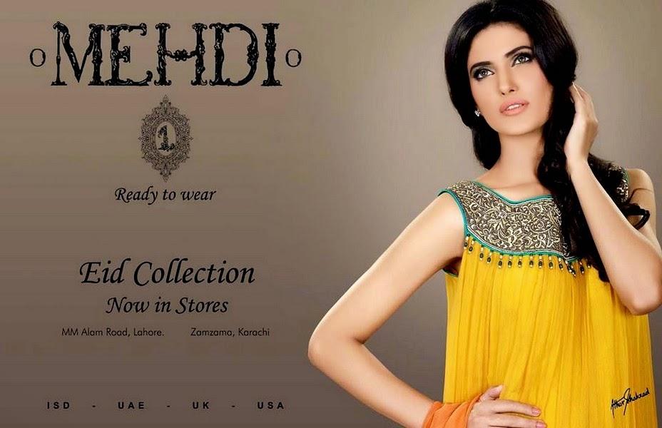 Mehdi - Ready To Wear Eid Dresses