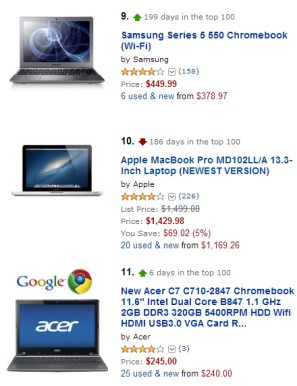 Chromebooks, Best-Selling Laptops