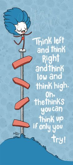 In the words of Dr. Seuss...