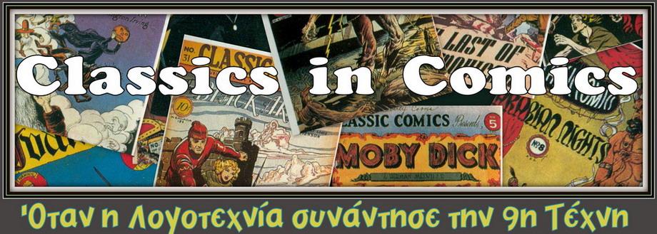 CLASSICS IN COMICS