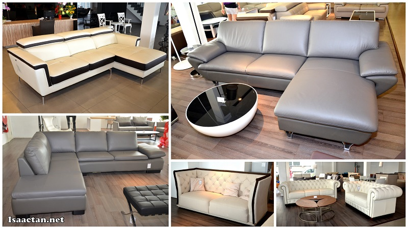 Shopping for Sofas  You ll be spoilt for choice here. Maju Home Concept Puchong Retail Store Grand Opening   Isaactan