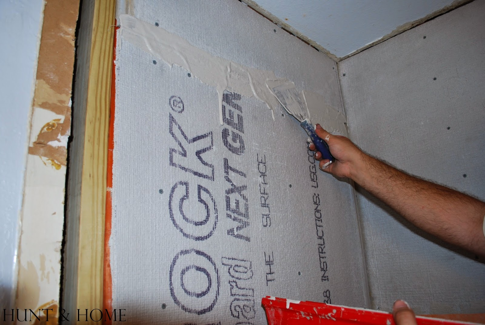 how to waterproof seams in cement board