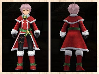 サンタ衣装 重量化 男