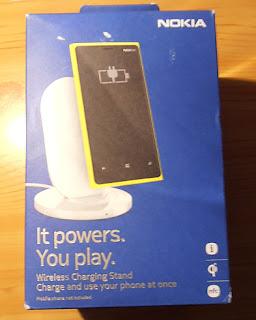 Cargador inalambrico Nokia Lumia 820