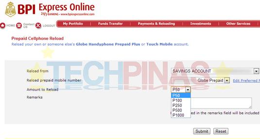 load globe online, reload globe prepaid online
