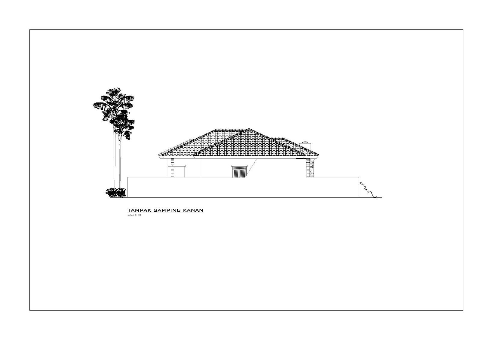 Panduan Bangunan Rumah: Desain Rumah Minimalis Tropis Di Purworejo