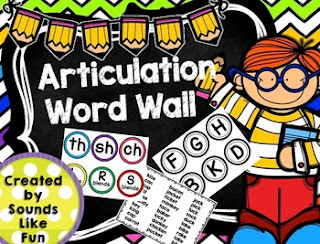 https://www.teacherspayteachers.com/Product/Articulation-Word-Wall-1862209