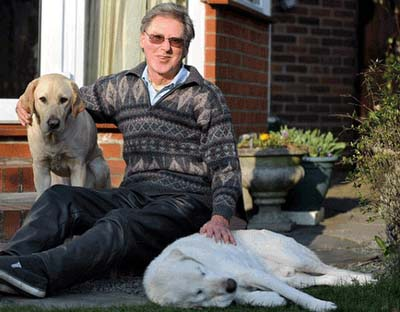 Amazing Story Of A Blind Dog With Its Blind Owner