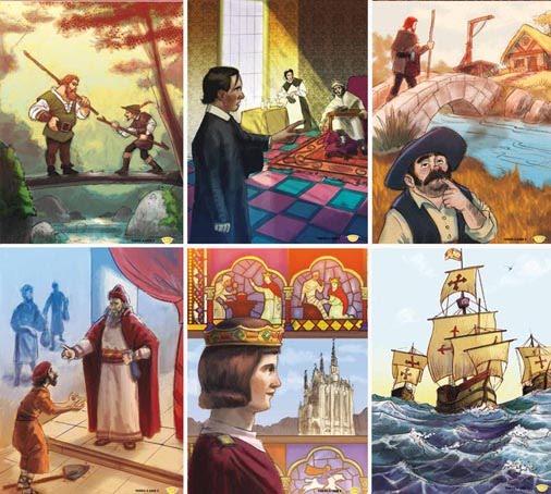 Ilustracion de cuentos