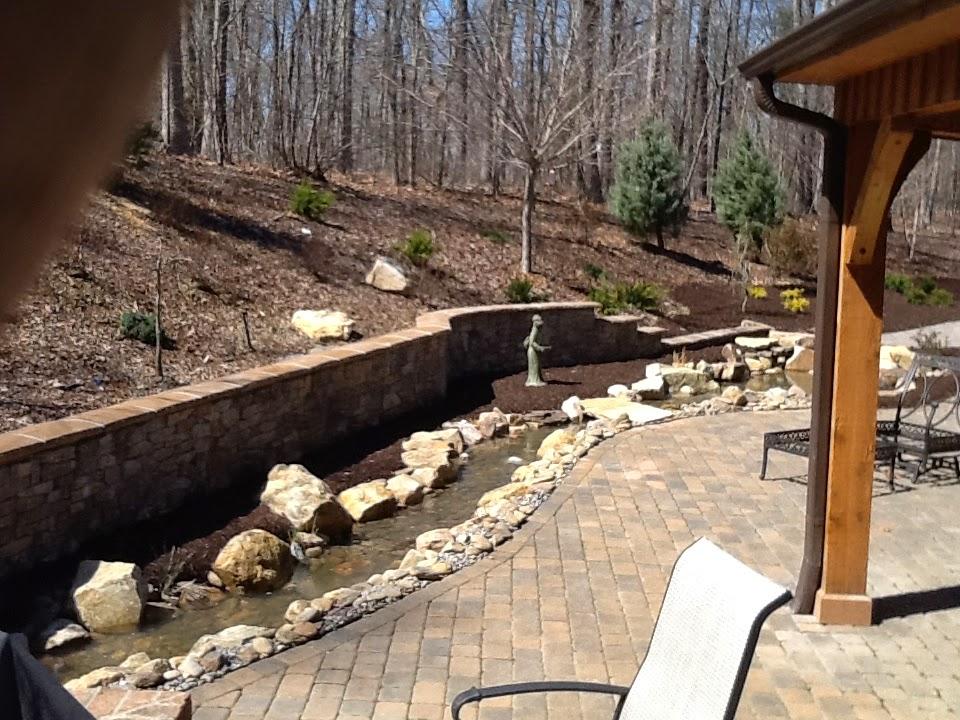 Wayne Dickerson Landscaping, LLC: Block Patios, Fire Pits ...