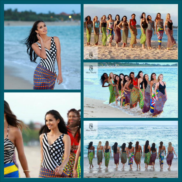 Miss World 2013 Beach Fashion Beauty