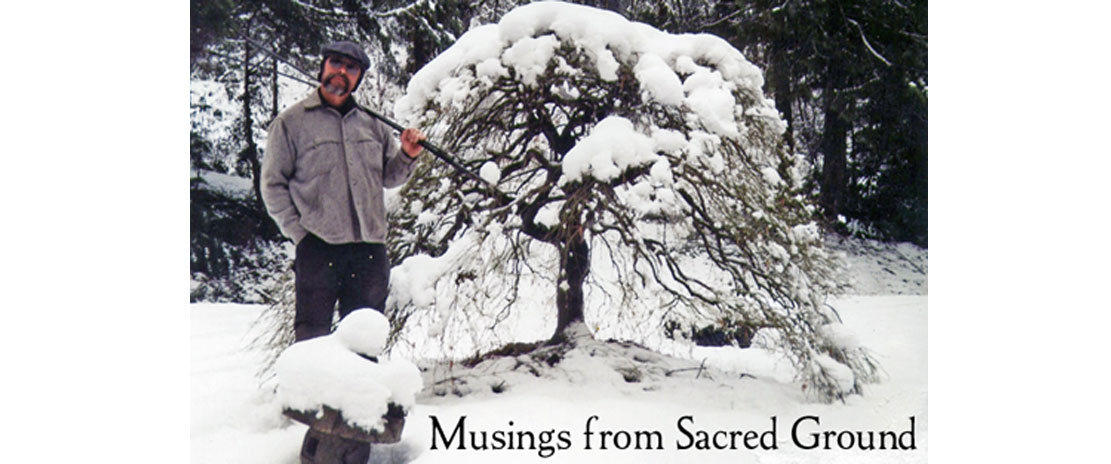 Musings from Sacred Ground