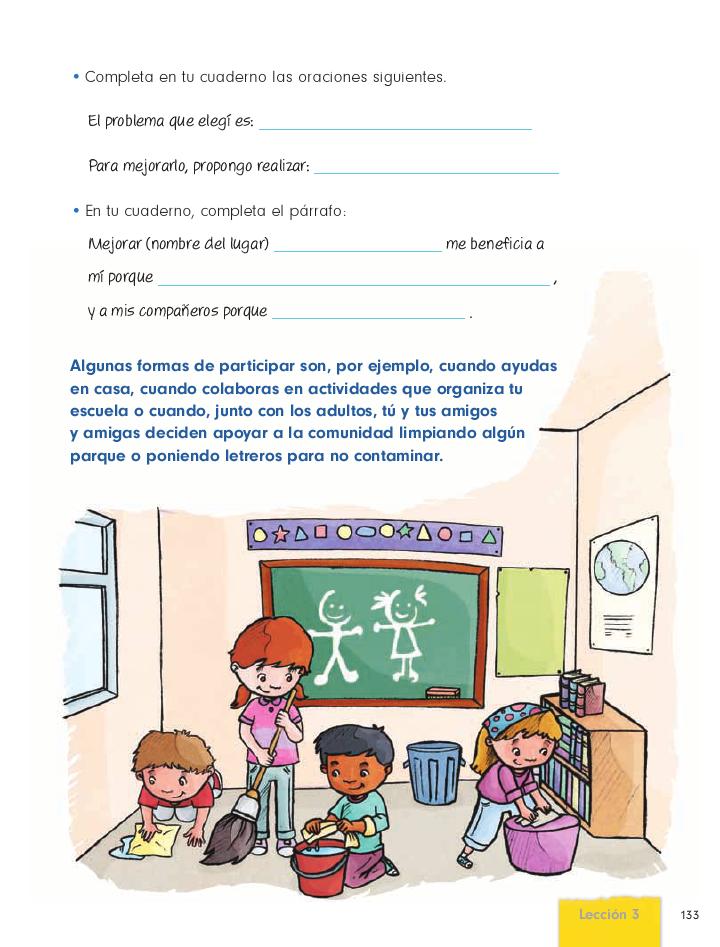 La participación infantil formación cívica y ética 2do bloque 5/2014-2015