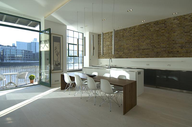 apartamento minimalista con carisma industrial por chiara