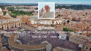 @pontifex - Pope Benedict XVI Twitter Profile